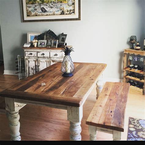 buy  custom  foot farmhouse table set   order
