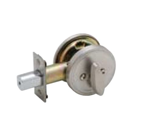 Deadbolt Door Knob All In One by Jd81 Single Sided Deadbolt With Thumbturn And