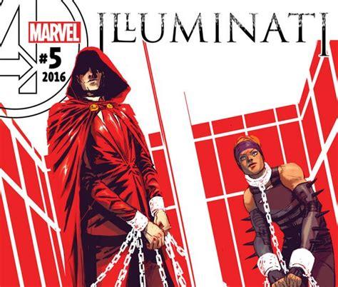 marvel illuminati illuminati 2015 5 comics marvel