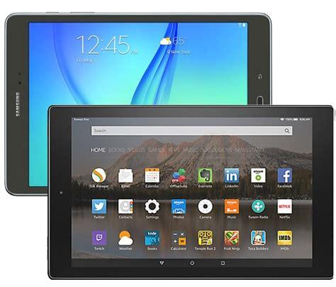 Tablet Samsung V samsung galaxy tab a 9 7 vs hd 10