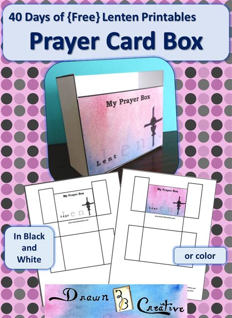 lenten healing 40 days to set you free from books 40 days of free lenten printables prayer card box