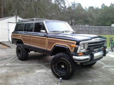 1989 Jeep Wagoneer Mpg Sell Used 1989 Jeep Grand Wagoneer Base Sport Utility 4