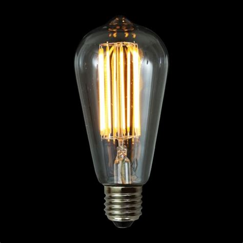 Mullan E27 4w Led Teardrop Dimmable Filament Bulb Led Light Bulbs E27