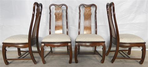 Asian Style Dining Chairs Set Of Six Style Highback Dining Chairs Sold