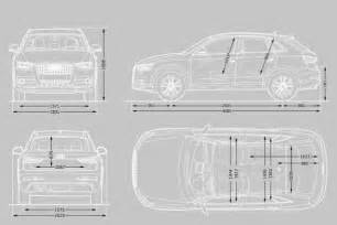 Audi Q3 Height Audi Q3 Dimensions Uk Exterior And Interior Sizes Carwow