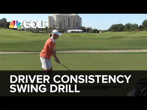 consistent driver swing annika full swing drill doovi