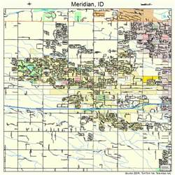 meridian map meridian idaho map 1652120
