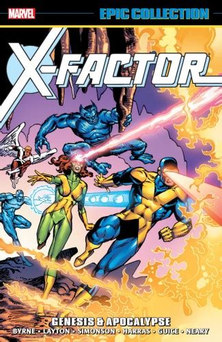 genesis graphic novel x factor epic collection genesis and apocalypse graphic