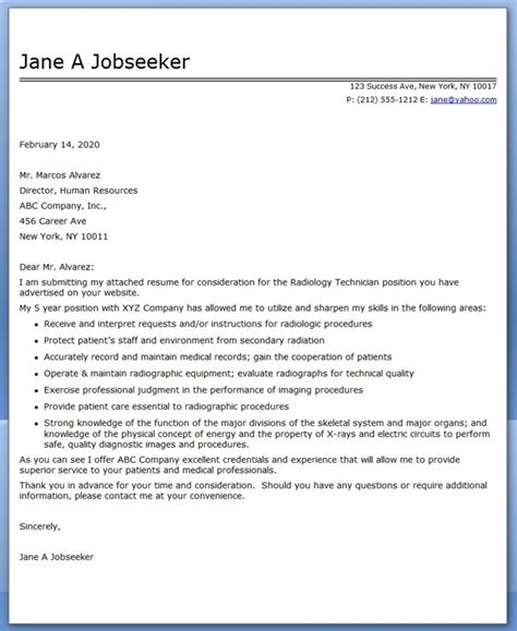 tech cover letter digiart