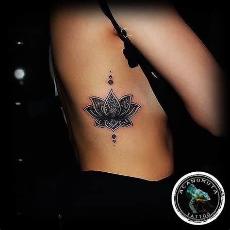 lotus tattoos meaning best 25 rib tattoos ideas only on