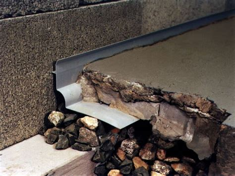 basement waterproofing denver thin floor drain system in denver boulder