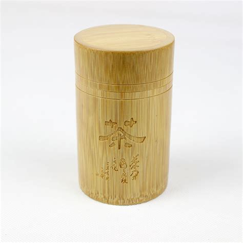 Bamboo Canisters For The Kitchen by Bamboo Jar Tea Container Storage Bottle Jar Spice Jars