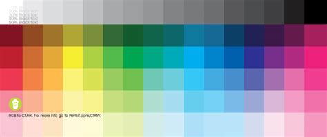 color pattern rgb rgb to cmyk and pantone conversion help guide printelf