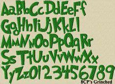 printable grinch font printable grinch font templates pinterest grinch