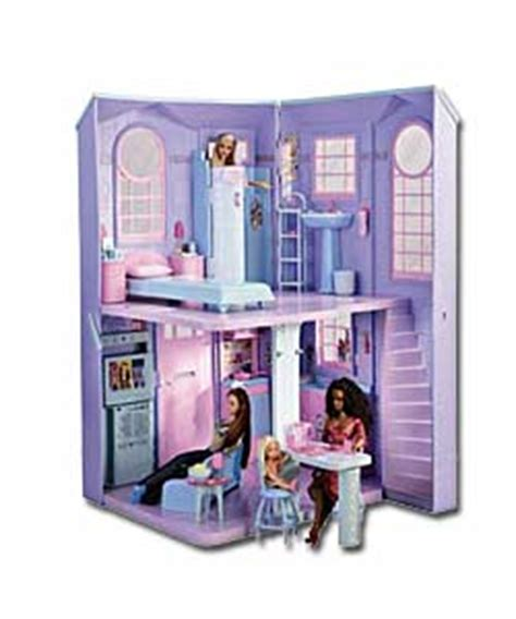 talking dolls house barbie talking town house dolls house review compare prices buy online