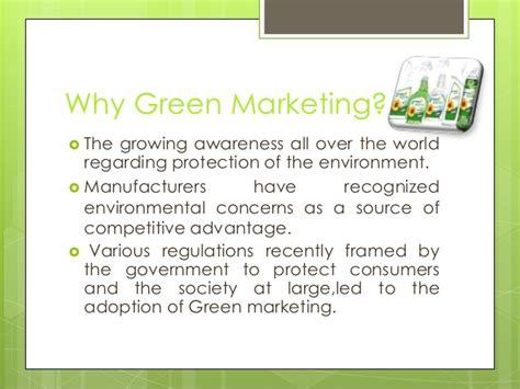 Green Marketing Project Mba by Marketing Green Marketing
