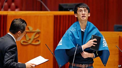 Mba Oath Debate by China Is Snubbed By Hong Kong Legislators At Their Oath