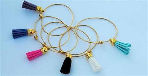 Tassel Bangle Bracelet   Jane