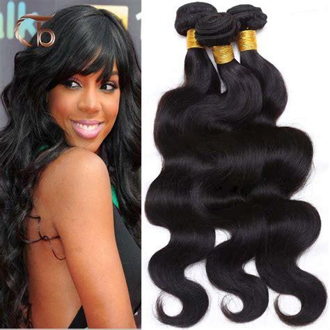 Kuas Cat 4inch Perpcs unprocessed hair wave 4pcs per lot human hair weaves customized 8 32
