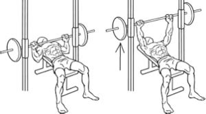 smith machine flat bench press how to use the smith machine bench press workouts its