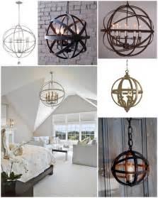 diy sphere chandelier challenge reveal earnest home co