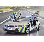 BMW I8 Polizei In Prag F&228hrt Plug Hybrid Sportwagen