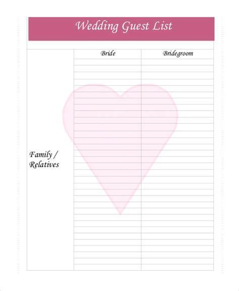 excel wedding guest list template effortless screnshoots spreadsheet