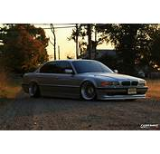 Stanced BMW 740iL E38