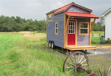 tiny home on trailer the duck chalet 170 sq ft tiny house built on a