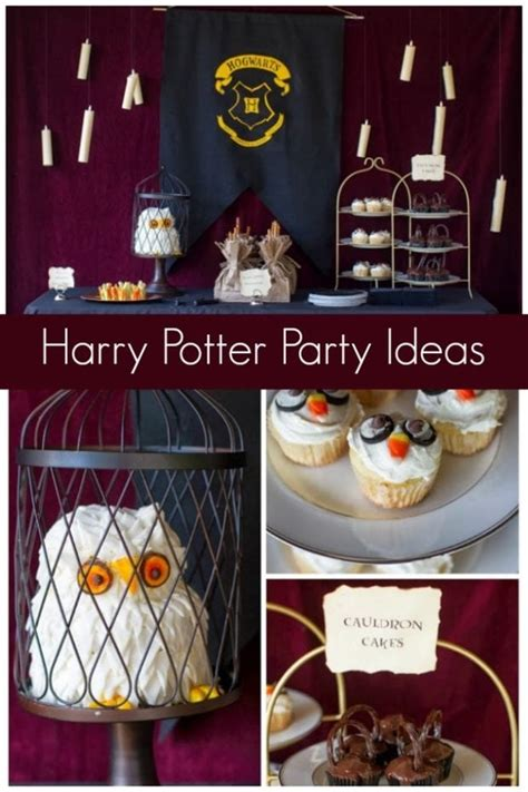 Unique  Ee  Harry Potter Birthday Party Ideas Ee   Spaceships And