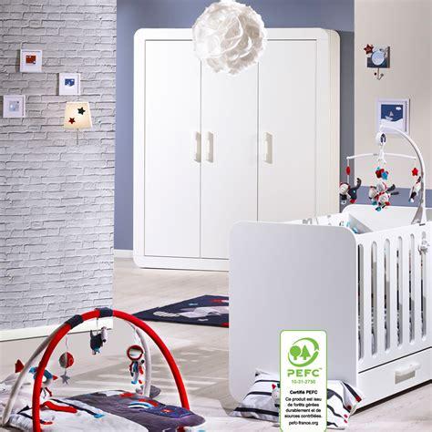 chambre sauthon astride chambre b 233 b 233 duo astride blanc lit et armoire 3 portes 30