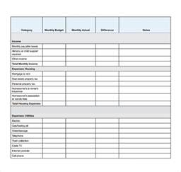 budget worksheet template free budget worksheet template abitlikethis