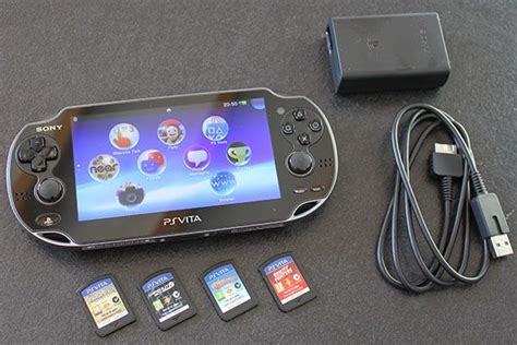 ps vita console test la playstation vita nouvelle console portable de sony