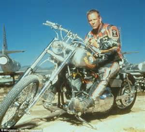 harley davidson documentary biography channel mickey rourke shows off unusual fashion sense in quirky