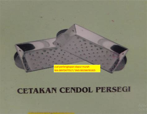 Cetakan Cendol Dorong 4 jual perlengkapan dapur alat rumah tangga stainless cetakan kue murah bekasi wa 08972477 517