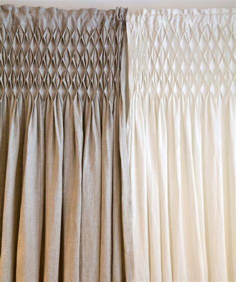 smocked curtains drapes 25 best linen curtains ideas on pinterest linen curtain