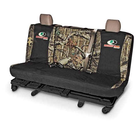 camo bench seat covers for trucks universal switch back camo bench seat cover 653101 seat covers at sportsman s guide