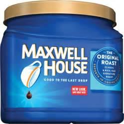 maxwell house original ground coffee ground