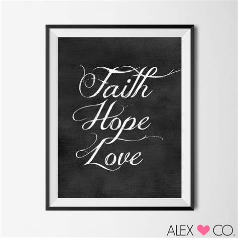 printable hope quotes printable quotes faith hope love faith hope by
