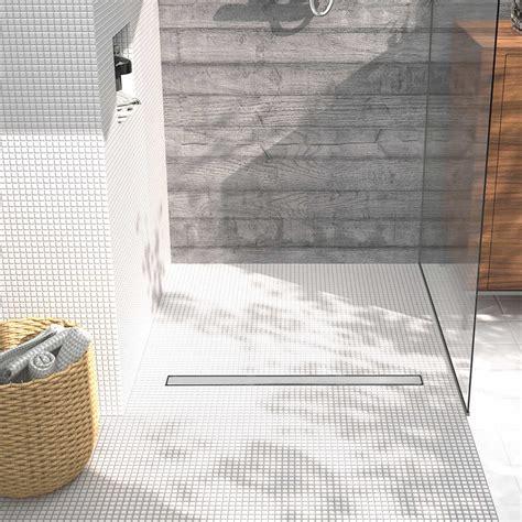 piatto doccia a pavimento scarichi doccia a pavimento stormdesign