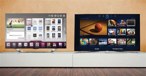 samsung vs lg whose tv belongs in your living room digital trends