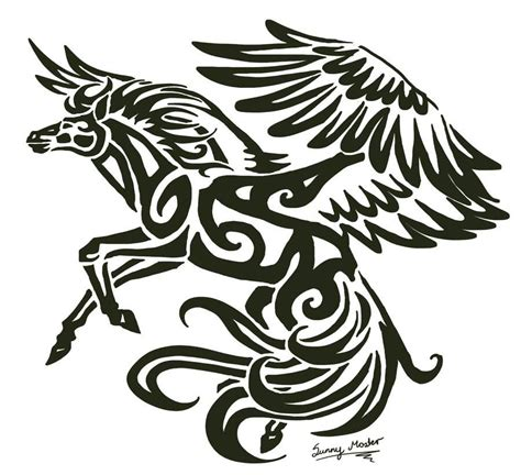 pegasus tattoo 100 sketches pegasus tattoos drawings golfian