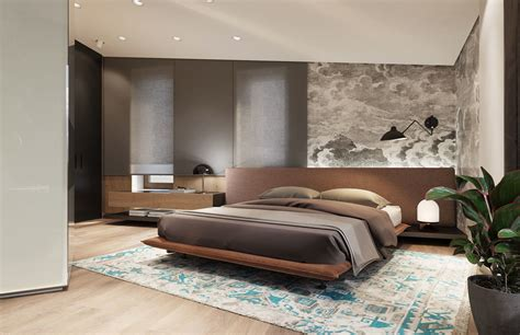 persian rug bedroom luxurious inspiring penthouses