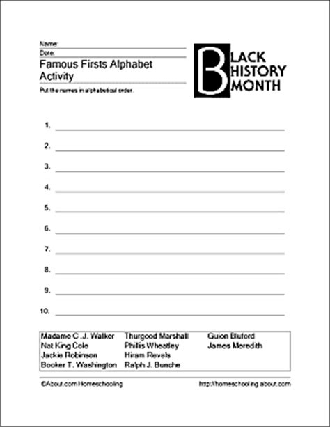 printable worksheets black history month print off these black history month worksheets