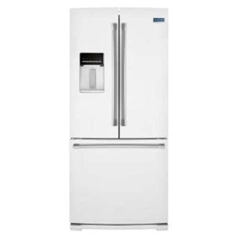 30 in door refrigerator maytag 30 in w 19 7 cu ft door refrigerator in