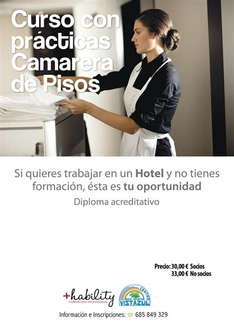 camarera de pisos ofertas de empleo curso de camarera de pisos con pr 225 cticas andalucia orienta