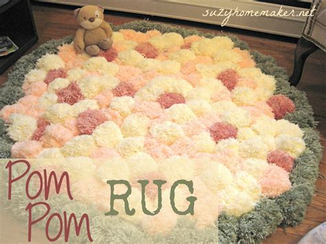 diy nursery rug diy pom pom rug takes some time to make but the result is beautiful for a baby nursery pin