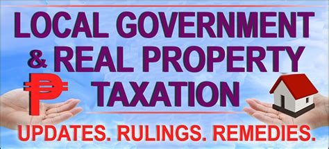 Local Government Course Outline by Local Government Real Property Taxation Flyer And Course Outline