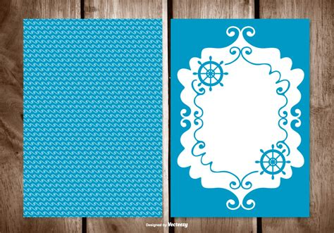 Blank Greeting Card Free Vector Art 26687 Free Downloads Cards Template