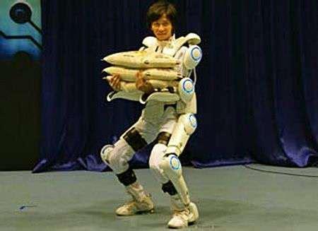 film avec exosquelette en vid 233 o les premiers pas de hal l exosquelette robotis 233